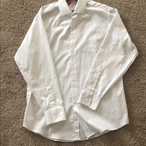 GEOFFREY BEENE FITTED BUTTON DOWN